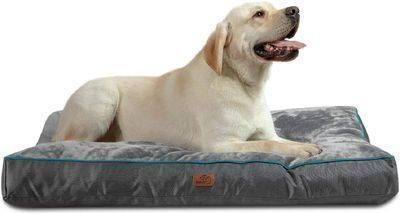 Dog Beds with Washable Cover - X-large/Grey