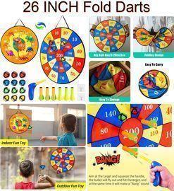 Safe Dartboard For Kids