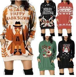 Pullover Holiday Tops