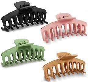 4 Packs Hair Claw Clips
