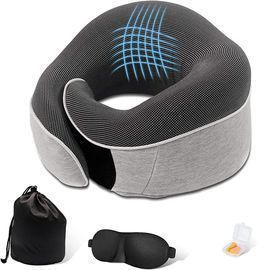 Travel Pillow Kit with 3D Contoured Eye Masks