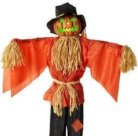 Husker The Corn Keeper Animatronic Scarecrow