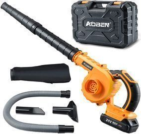 Cordless Leaf Blower with Battery & Charger