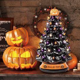 Ceramic Christmas-Halloween Tree
