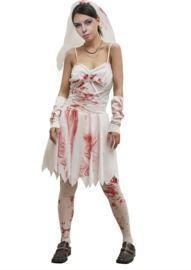 Women's Zombie Bloody Costume