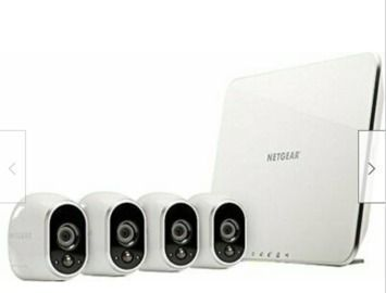 Certified Refurb Arlo VMS3430-100NAR HD Wireless 4 Camera Security System