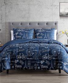 Paris Minuit 2-Pc. Reversible Comforter Set (All Sizes)