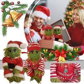 Christmas Baby Grinch Doll