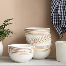 Set of 4 Deep Cereal Bowls