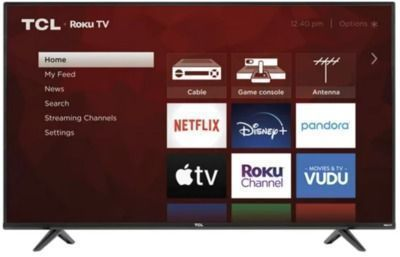 STARTS NOV. 3 | TCL 55 4K UHD HDR Smart Roku TV