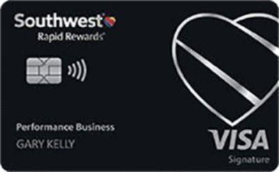 Southwest Airlines - Southwest® Rapid Rewards® Performance Business Credit Card | Earn 80K Bonus Points w/ $5K in 3 Months