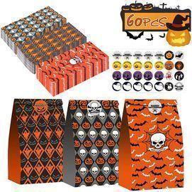 60PCS Halloween Candy Goodies