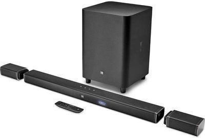 Certified Refurb JBL Bar 5.1-Channel 4K UHD Soundbar System w/ Wireless Surround Speakers