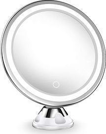 Upgraded 10x Magnifying Lighted Makeup Mirror