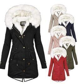 Warm Plush Faux Fur Jackets