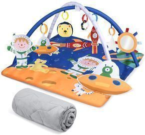 Extra Large 8 in 1 Baby Gym Mat
