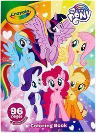 Crayola My Little Pony Coloring Book with Stickers