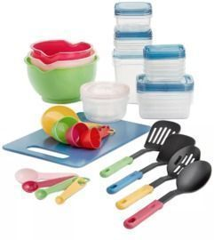 Art & Cook 50pc Kitchen Prep Set