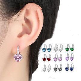 Heart-Shaped Women Earrings