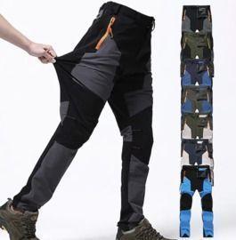 Men's Waterproof Pants - 2 Pairs