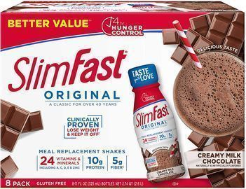 8ct SlimFast Meal Replacement Shakes