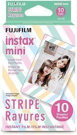 Fujifilm Instax Mini Stripe Film (10 Sheets)