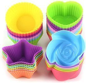 LetGoShop Silicone Cupcake Liners 24ct