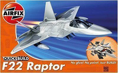 Airfix Quickbuild Lockheed Martin Raptor Airplane