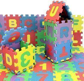 36Pcs Number Alphabet Puzzle