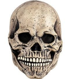 Costume Mask with Movable Jaw