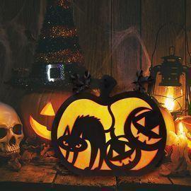Halloween Decorations Lighted Pumpkin