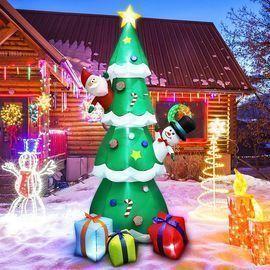 8' Christmas Inflatable Tree
