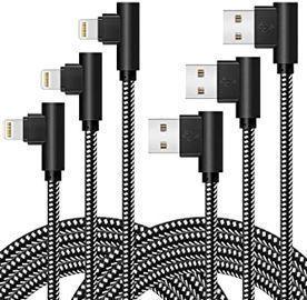 Oceek 3 Pack of Lightning Cables (3/6/10ft.)