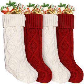 Large Christmas Stockings -4Pack