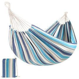 2-Person Brazilian-Style Double Hammock w/ Portable Carrying Bag