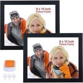 2 Pack of 8x10 Black Wood Frames