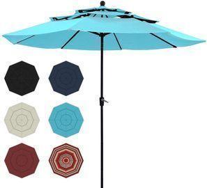 3 Tier Patio Umbrella