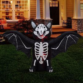 6 Foot Long Lighted Halloween Inflatable