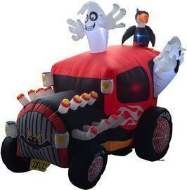 Inflatable Ghost in The Car