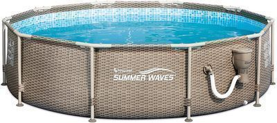Summer Waves 10ft x 30in Frame Above Ground Swimming Pool