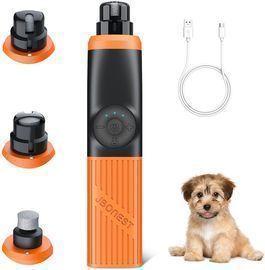 Dog Nail Grinder with 2 LED Lights