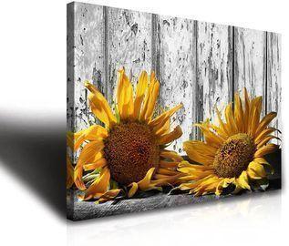 Sunflower Wall Art Decor