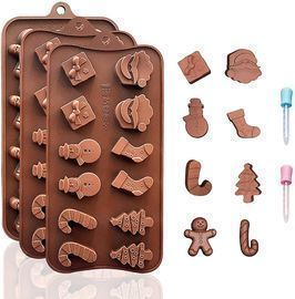3 PACK Chocolate Molds