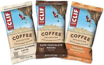 15ct CLIF BARS with 1 Shot of Espresso