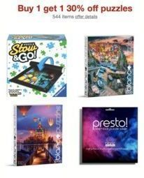 Buy 1 Get 1 30% off Puzzles | 2 for $24.20 or Less
