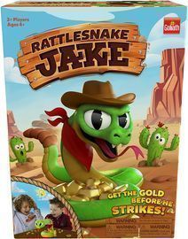 Rattlesnake Jake: Get The Gold Before He Strikes! Game by Goliath