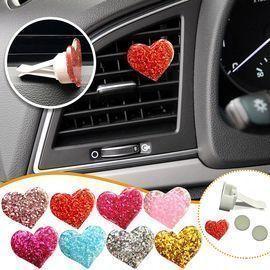 Love Heart Car Air Vent Clip