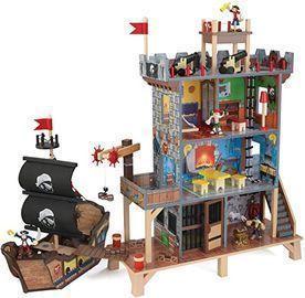 KidKraft Pirate's Cove Wooden Ship Play Set