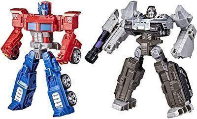 Transformers Toys Heroes and Villains Optimus Prime & Megatron 2pk