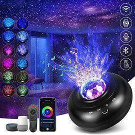 Hueliv Smart WiFi Starry Night Star Light Projector